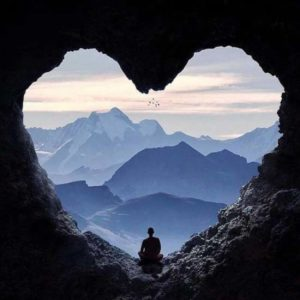 meditation montagne